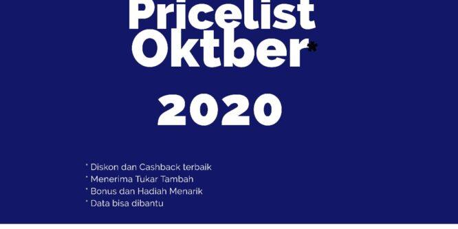 PRICE LIST HARGA TOYOTA TERBARU DI BULAN OKTOBER 2020